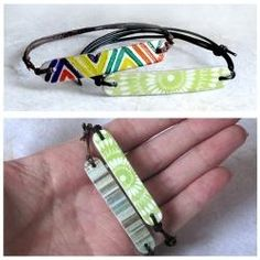 This lens is a collection of cool popsicle stick craft tutorials that are above and beyond the usual kiddie-crafts normally reserved for these little wooden sticks. You'll find jewelry, art, home decor, gift wrapping ideas, and so much more - all. Popsicle Stick Bracelets, Popsicle Stick Art, Popsicle Crafts, Craft Stick Crafts, Fun Crafts, Arts And Crafts, Edible Crafts, Popsicle Stick Crafts For Adults, Craft Sticks