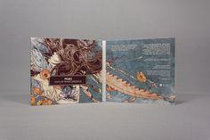 inspiring illustration work - Days Of Transcendence by Skurktur , via Behance