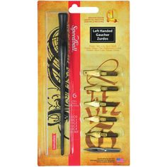 Speedball Calligraphy Set, Left Handed Set, Pen Holder and Nibs, SB2969