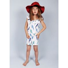 Budgie Summersuit by mini rodini, availabe at nordliebe.com