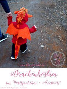 Drachenkostüm für Kinder selbst nähen
