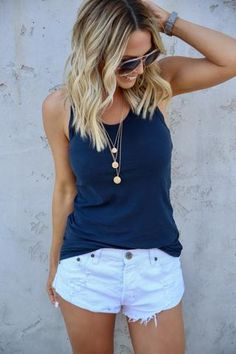 10 more cute casual shorts outfits # süße lässige shorts outfits 2020 Summer Outfits For Moms, Mom Outfits, Spring Outfits, Casual Outfits, Cute Outfits, Casual Shorts, Summer Dresses, Grunge Style, Soft Grunge