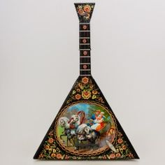 Summer Troika Balalaika Music Box