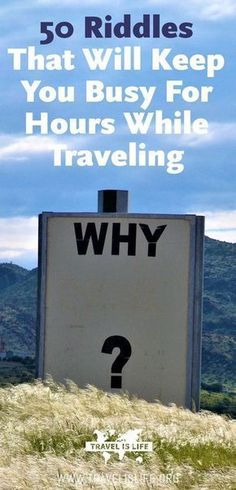 I love riddles, although I'm horrible at figuring them out. Here are my favorite riddles to keep your family occupied on your next road trip or to entertain your traveling friends with on your next 16 hour bus ride. Road Trip With Kids, Family Road Trips, Travel With Kids, Family Travel, Road Trip Activities, Road Trip Games, Road Trip Humor, Road Trip Tips, Road Trip Quotes