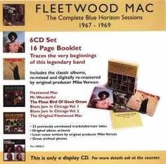 For Sale - Fleetwood Mac The Complete Blue Horizon Sessions 1967-1969 - Display CD USA Promo  CD album (CDLP) - See this and 250,000 other rare & vintage vinyl records, singles, LPs & CDs at http://991.com