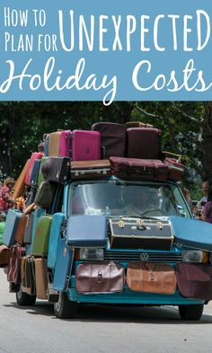 There are a few things that often get forgotten when planning for your holiday so add them to the pre-holiday check list so you don't end up paying more!