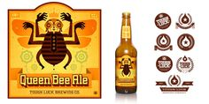 Love this illustrated bee on the packaging.
