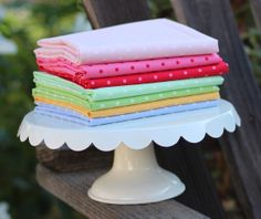 Dots from Pam Kitty Picnic - fabric for the retro and vintage lovers!