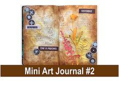 Mini Art Journal #2 For Beginners