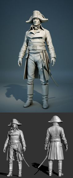 Young Bonaparte Zbrush by ~Intervain on deviantART