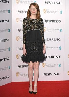 Emma Stone - BAFTA Nominees Party - Chanel
