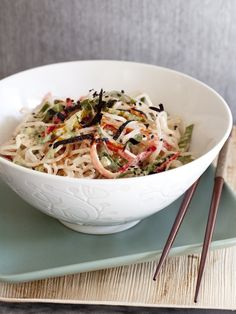 Indonesian Noodle Affair (Recipe from our latest book The RAWvolution Continues)