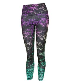 Another great find on #zulily! Black Shadow Leggings #zulilyfinds