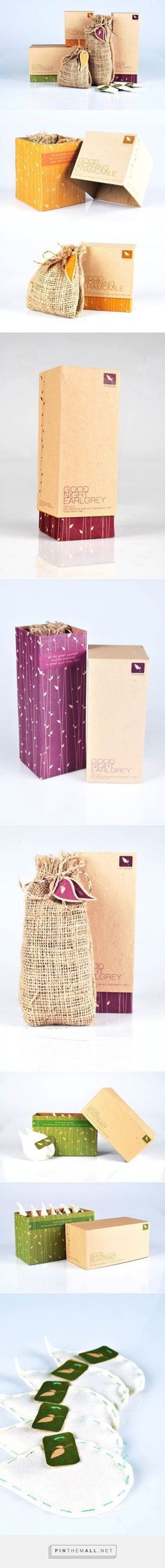 Collection of natural #packaging for tea design from Indonesia PD: