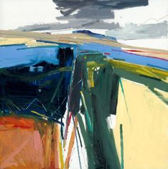 Peter Iden (1945-2012) Artist: Untitled (Peter's last painting) 61x61cm 2012 Oil on Board Estate of Peter Iden #39