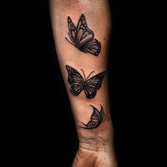 Girl Neck Tattoos, Forarm Tattoos, Forearm Sleeve Tattoos, Dope Tattoos, Unique Tattoos, Body Art Tattoos, Hand Tattoos, Small Tattoos, Butterfly Tattoos On Arm