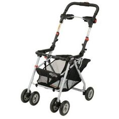 We like this stroller frame. You could put the car seat right into it without having to take baby in and out of the car seat.