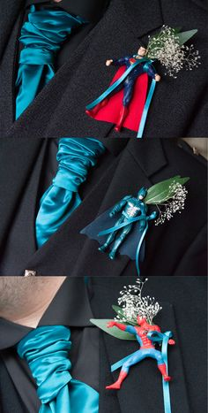 Wedding inspiration: Superhero Wedding Flowers
