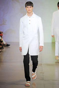 Jil Sander Spring 2010 Menswear Fashion Show Collection