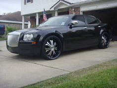 Chrysler 300 on 24-inch 2 Crave No. 8
