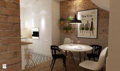 Dom Brwinów 200 m2 - Kuchnia, styl skandynawski - zdjęcie od Grafika i Projekt architektura wnętrz