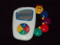 Kids II Baby Einstein Take Along Tunes- Introduce your baby to music with the Kids II Baby Einstein Take Along Tunes, which features a center button that allows you to toggle through seven different classical melodies and colorful lights that dance across the screen to each song. The child-friendly MP3 player features a caterpillar bead-chaser handle that allows little hands to easily carry it aroun