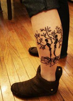 skeleton trees, i love this!