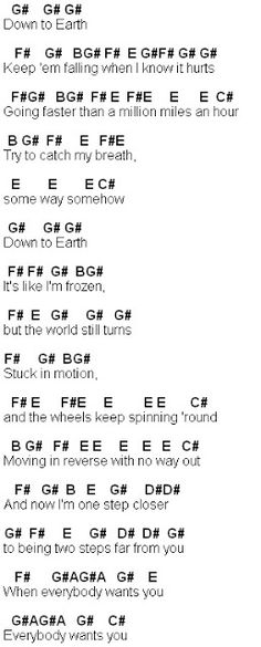 Sheet Music: Infinity - One Direction