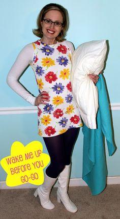 Harris Sisters GirlTalk: Wham! Wake Me Up Before You Go-Go Halloween Costume