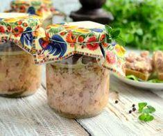 Drobiowa wędlina ze słoika Pots, Polish Recipes, Charcuterie, Preserves, Guacamole, Pickles, Catering, Food And Drink, Turkey