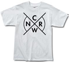 CRWN Cross - White/Black