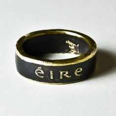 These coin rings are very cool.