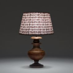 Pooky wooden table lamp