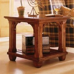 Kincaid Furniture 96 021 Tuscano Square Lamp Table