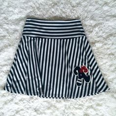 """Varsity All ⭐️'s Skirt Slimming stripes, incredibly soft fabric, and a super cute Varsity """"A"""" Letter on the bottom left corner!  MAKE ME AN OFFER  CHECK MY CLOSET FOR OTHER CUTE STUFF  Forever 21 Skirts"""