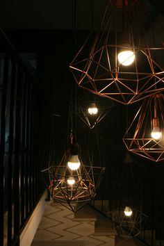 Décoration entrée - Scandinave, industrielle, cuivre, géométrique, pols potten - D.CO by Maya Des bulles de couleurs dans votre intérieur...