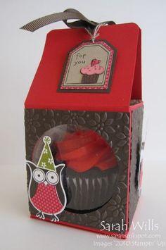Cup Cake Box – Sarahs Ink Spot