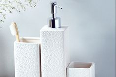 Dentelle Bathroom Accessories Collection | Absolute Home
