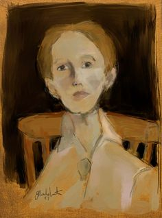 Inspired by Helene Schjerfbeck (Finnish painter, 1862-1946) 2500x3376px 200ppi