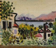 Pablo Picasso, PAYSAGE A DINARD