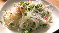 A light and zesty salad courtesy of Nigella Feasts feel good food episode