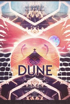 Movie about the attempted creation of the movie DUNE.