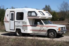 Too bad they don't make these anymore! 1987 Scamp Motorhome