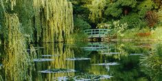 I'd like to visit Monet's Garden, Giverny
