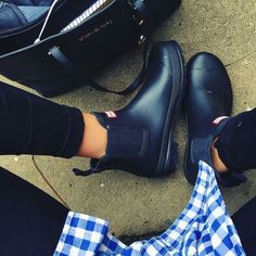 Gumboot Chelsea boots