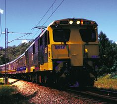 What better way to sample some of the iconic Australian pleasures: The Great Barrier Reef, the Kuranda Scenic Railway, the islands such as Fraser and the Whitsundays, and the rainforest? The Sunlander train links them all, with its overnight service crossing 1,045 miles on the east coast of Queensland, Australia, from Brisbane to Cairns.The scenery is spectacular. The possible stopovers are, too. If you take the train straight through, it takes 32 hours.
