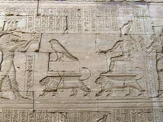 Installation of the Sacred Falcon (Edfu)