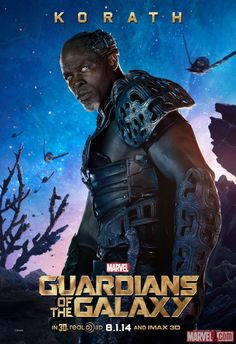 "Marvel's ""Guardians of the Galaxy"" Poster featuring Korath (Djimon Hounsou)"