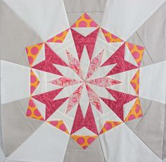 Maniacal Material Girls: Celestial Stars Final Linkup - Fox Field Throw Quilt Top