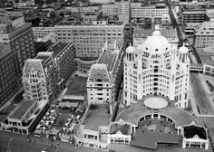 At its peak, Atlantic City's boardwalk was lined with architectural masterpieces such as the Marlborough-Blenheim Hotel and the Traymore Hotel. Description from thestreet.com. I searched for this on bing.com/images
